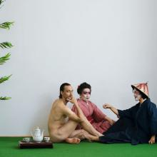 Without a Title - May or May Not - Reinterpretation of Manet's The Lunch on the Grass  Photograph 140*200cm, Photography by Peter Uhan, 2012