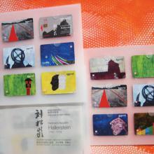 Augustin de Hallerstein - Hallerstein - Series of nine telecards, Painting: Wang Huiqin, Graphic design: Borut Beric, 2007
